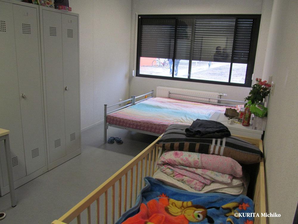家族用の部屋の様子