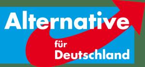 第三党に躍進したポピュリズム政党AfDのロゴ